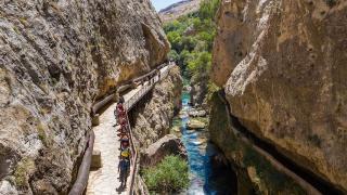 Saklı cennet Şuğul Kanyonu