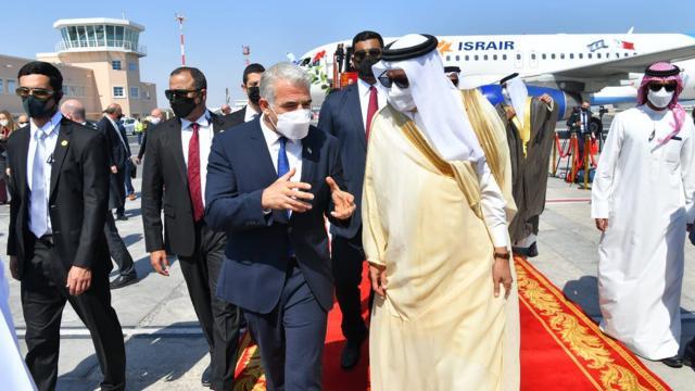 İsrail Dışişleri Bakanı Lapid, ilk kez Bahreynde