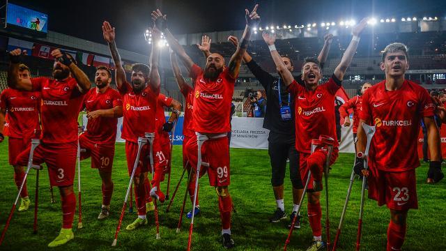 Ampute Milli Takımının yeni hedefi dünya şampiyonluğu