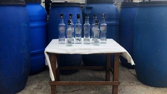 Balıkesirde sahte içki operasyonu: 3 gözaltı