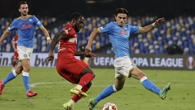 Eljif Elmasın erken golü Napoliye yetmedi