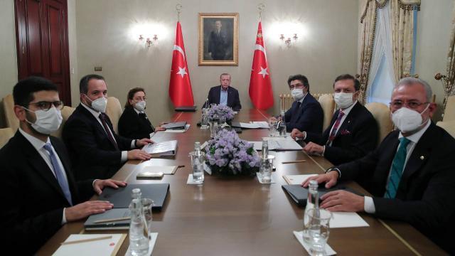Cumhurbaşkanı Erdoğan, Türkiye Varlık Fonu Yönetim Kurulu Toplantısına başkanlık etti