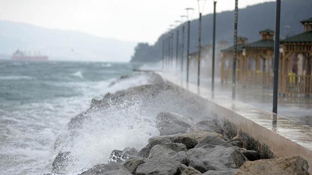 Marmara, Ege ve Akdeniz için fırtına ve sağanak uyarısı