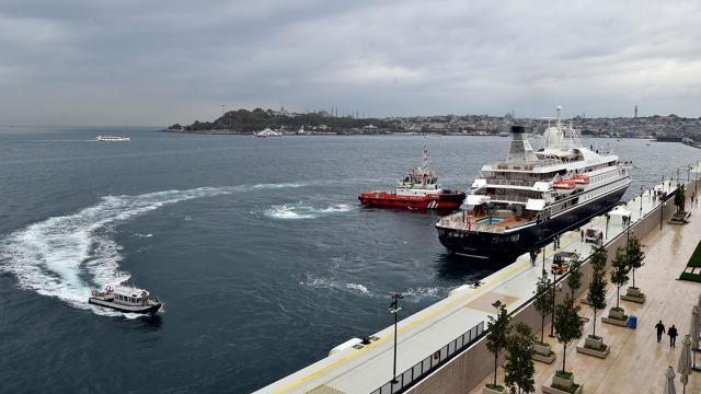 Galataport İstanbul ilk yolcu gemisini ağırlıyor