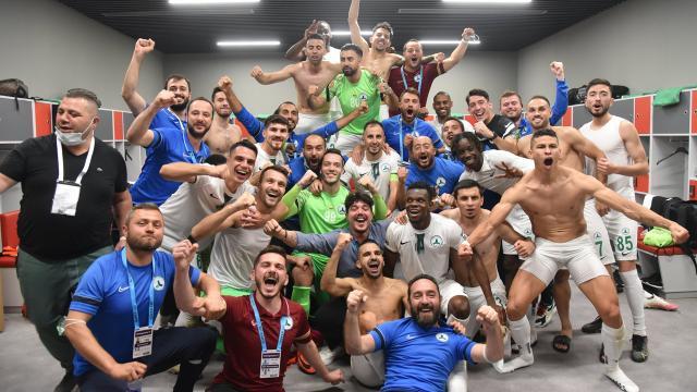 Giresunspor Süper Ligde 25 maç sonra galip