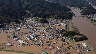 Japonya'da etkili olan Mindulle Tayfunu 4 kişiyi yaraladı