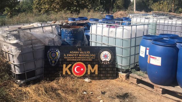 Adanada kaçakçılara operasyon: 2 gözaltı