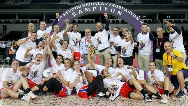 Kadınlar Federasyon Kupası Mersin Büyükşehir Belediyesporun