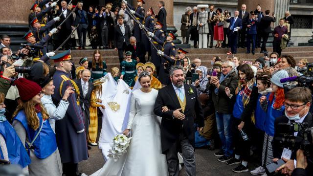 Rusyada 100 yılın ardından ilk defa hanedan düğünü