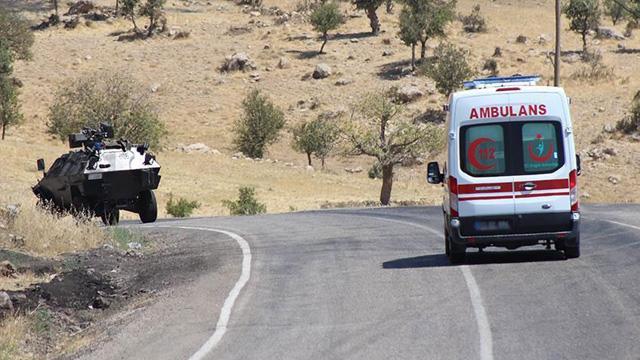Bingölde terör saldırısı: 2 işçi şehit oldu