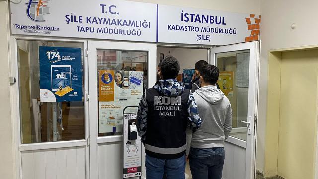 Şile Tapu Müdürlüğünde rüşvet operasyonu: 32 tutuklama