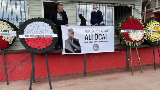 Gazeteci Ali Öcal için tören düzenlendi