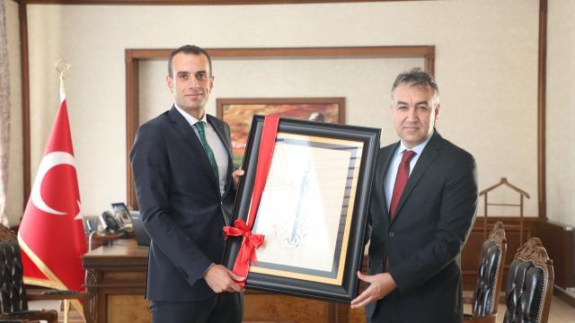 Bitlis Valisi Çağatay, Kaymakam Demiri ziyaret etti