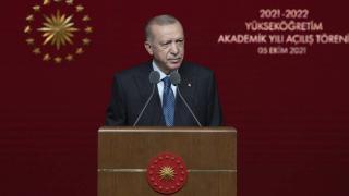 Cumhurbaşkanı Erdoğan: İlçe veya il çapında bir kapanma kesinlikle düşünmüyoruz