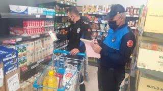 Kırıkkale'de zabıta ekiplerinden market denetimi