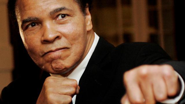 Muhammed Alinin çizimleri yaklaşık 1 milyon dolara satıldı