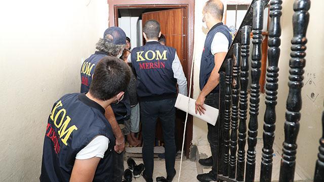 9 ilde suç örgütlerine operasyon: 7 gözaltı