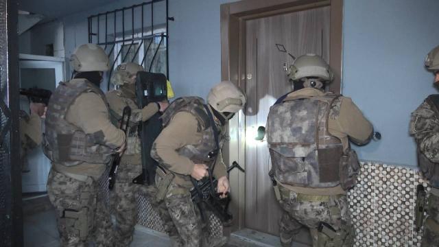 Bursada silah kaçakçılarına operasyon: 30 gözaltı