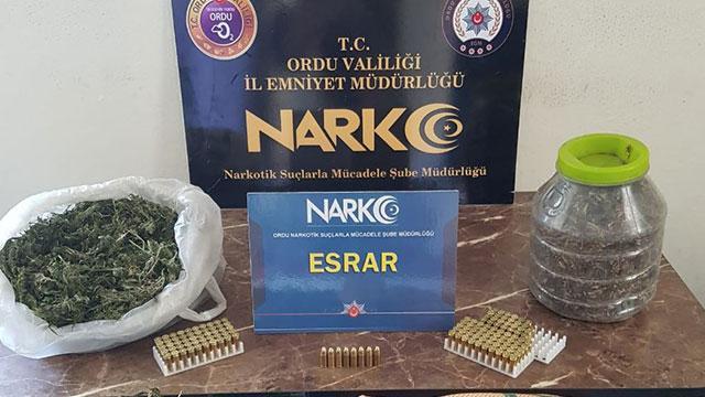 Orduda uyuşturucu operasyonu: 9 kişi yakalandı