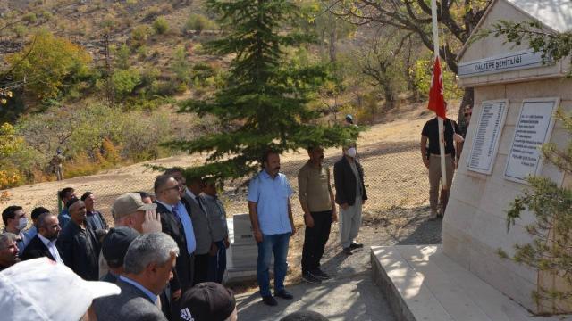 Siirtte teröristlerin katlettiği 37 vatandaş anıldı