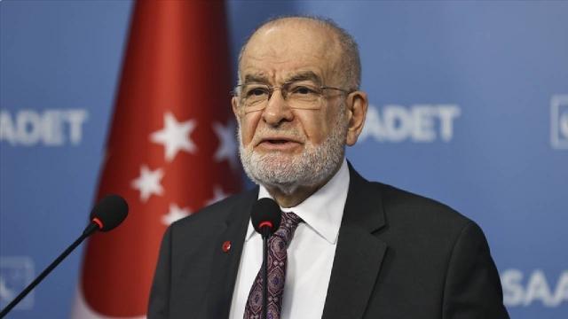 Saadet Partisi YİK Başkanlığına Temel Karamollaoğlu seçildi
