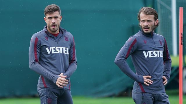 Trabzonsporda eksikler dönüyor