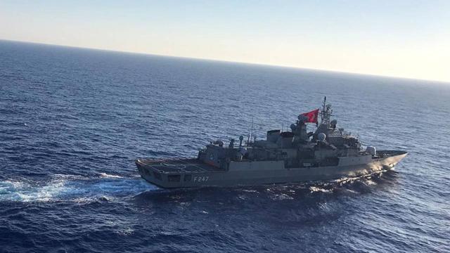 Akdenizde Rum gemisine müdahale