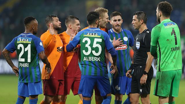 Galatasaray 8. haftanın hakem raporunu açıkladı