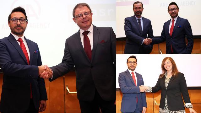 AA, 3 ülkenin haber ajansıyla iş birliği anlaşması imzaladı