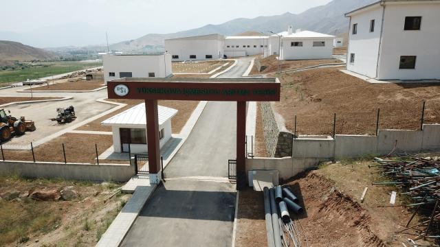 Yüksekovada inşa edilen tesis, 2045 yılına kadar içme suyu ihtiyacını karşılayacak
