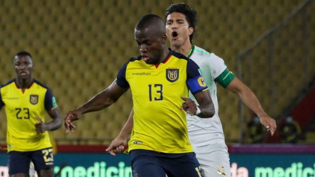 Fenerbahçeli Enner Valencia milli takımda 33. golünü attı