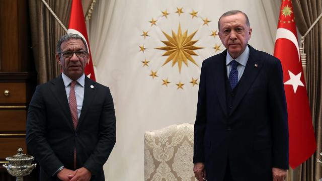 Cumhurbaşkanı Erdoğan PAB Başkanı Pachecoyu kabul etti