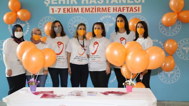 Erzurumda gebelere Covid-19a karşı anne sütüyle aşının önemi anlatıldı