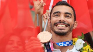 Milli cimnastikçi Ferhat Arıcan'ın hedefi 2024 Paris'te altın madalya
