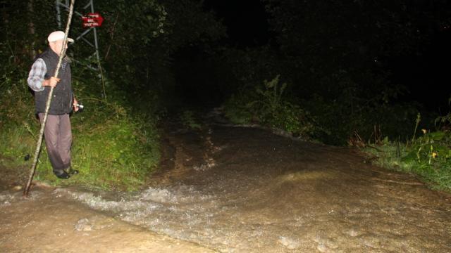 Giresunun Yağlıdere ilçesinde şiddetli yağış hasara neden oldu
