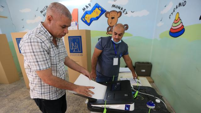 Irakta özel oylama günü