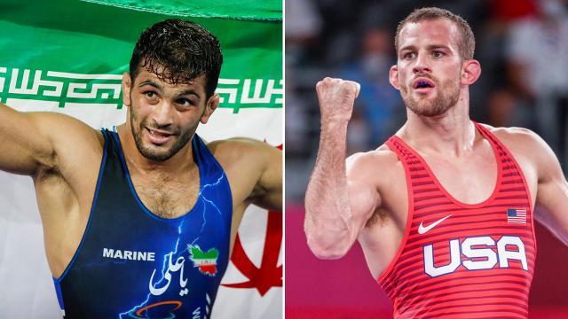 İranlı ve ABDli iki güreşçi arasındaki rekabette yeni sayfa