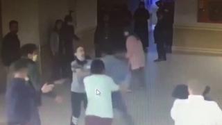 Hastane güvenlik görevlisini darbeden kişi gözaltına alındı
