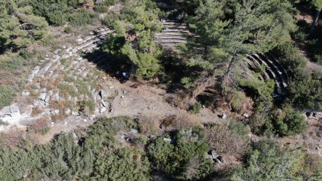 Muğladaki Hyllarima Antik Kentinde kazı ve temizlik çalışmaları başladı