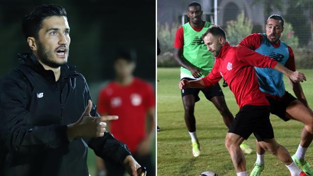 Teknik direktör-kaptan Nuri Şahin ilk antrenmanına çıktı