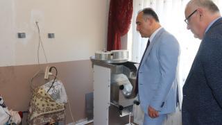Düziçi'nde İŞKUR bünyesinde süt ürünleri işleme kursu düzenlendi