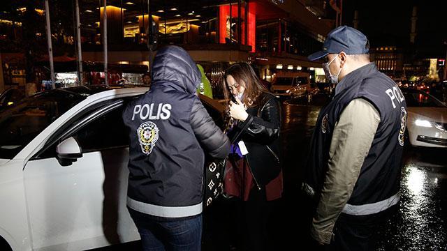 İstanbulda helikopter destekli asayiş uygulaması