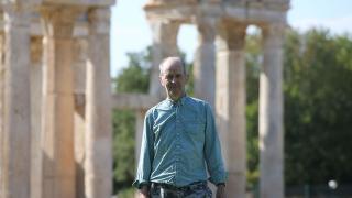 Turist olarak geldiği antik kentin kazı başkanı oldu