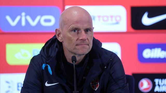 Norveçin teknik direktörü Solbakken: Bir gol buldular, sonra kontrolü ele geçirdik