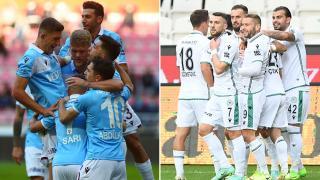 Trabzonspor ve Konyaspor'un bileği bükülmüyor