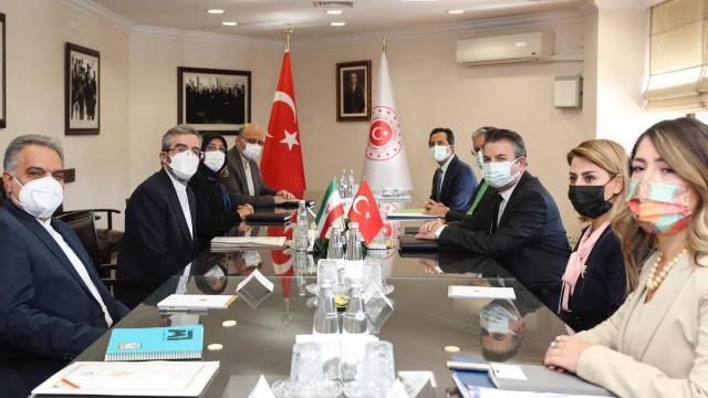 Türkiye ile İran arasındaki siyasi istişareler tamamlandı