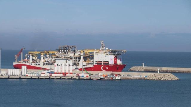 Yavuz sondaj gemisi Filyos Limanına ulaştı