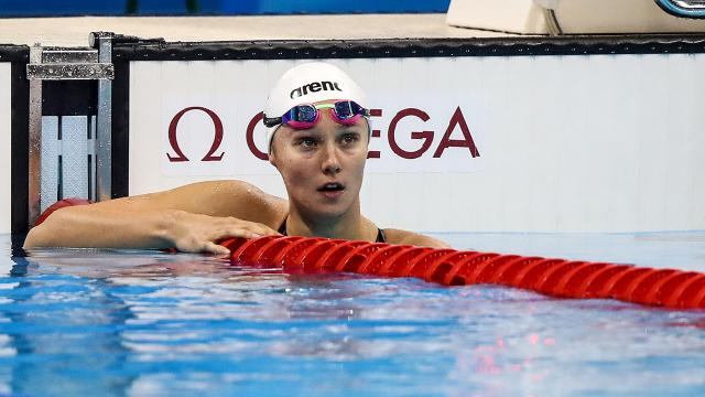 Viktoria Zeynep Güneş Dünya Yüzme Kupasında bronz madalya kazandı