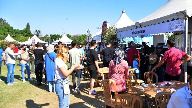 Adana Lezzet Festivali yaklaşık 285 bin kişiyi ağırladı