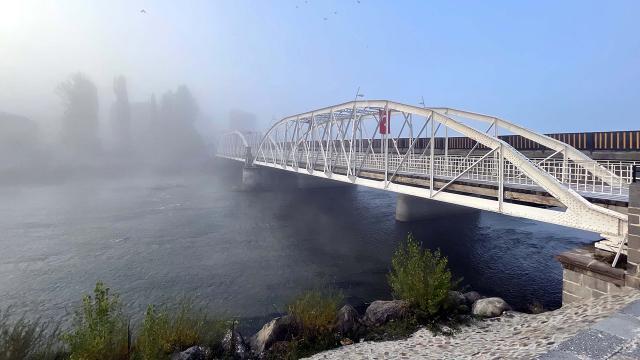 Ardahanda yoğun sis etkili oldu